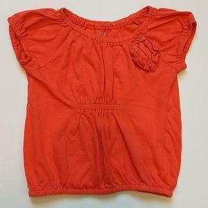 Orange Toddler Girl Shirt * Size 4